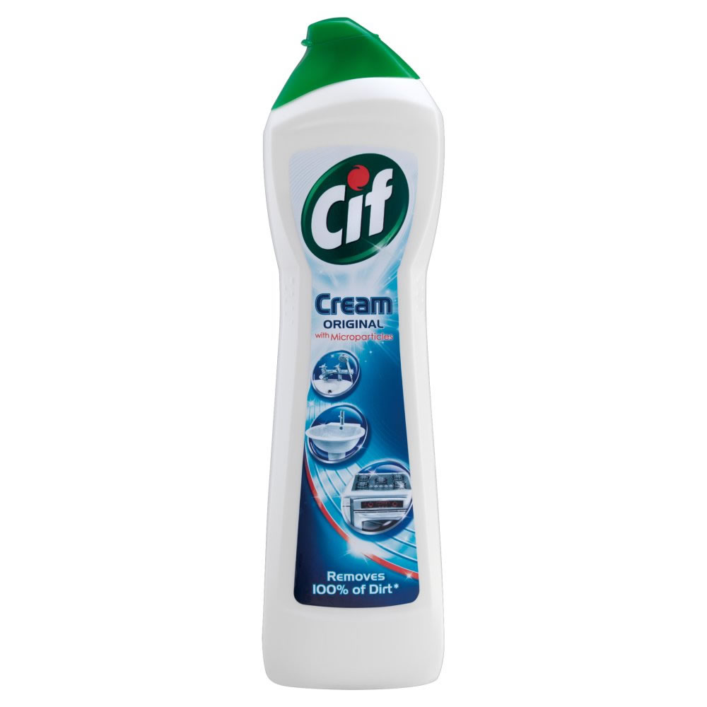 Cif Cream Original, mleczko do czyszczenia sanitariów, 750 ml Image