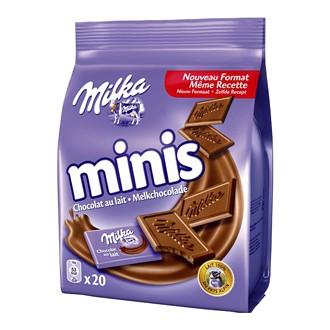 Milka Minis, 20 czekoladek mlecznych 200 g Image