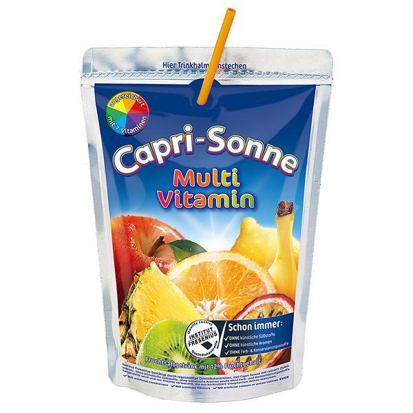 Capri Sonne Multi Vitamin, sok o smaku multiwitaminy, 200 ml Image