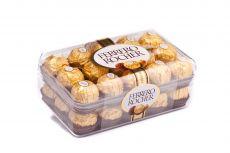 Ferrero Rocher, chrupiący smakołyk z kremowym nadzieniem i orzechem laskowym w czekoladzie, 375 g Image