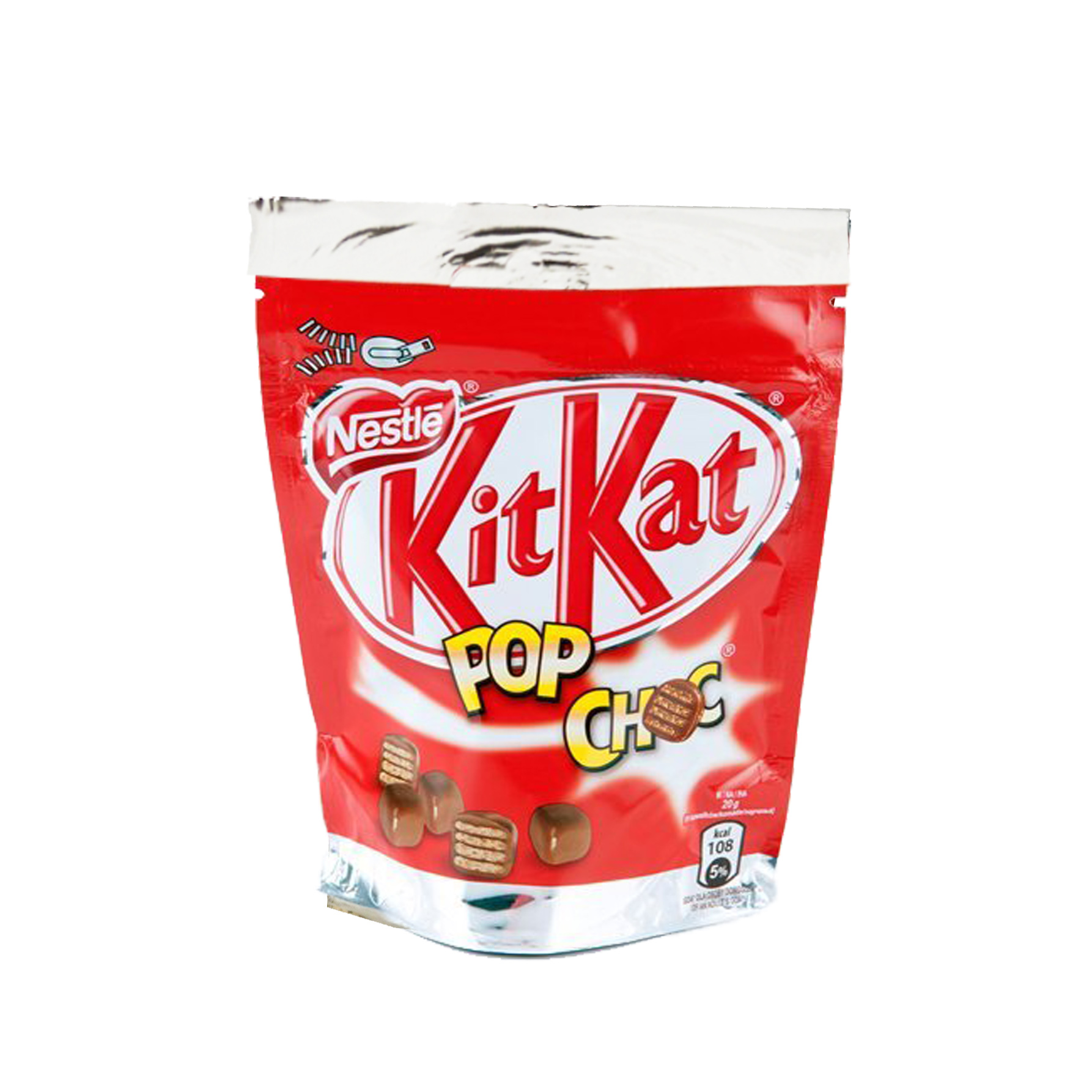 Nestle Kitkat Pop Choc kruche wafelki w mlecznej czekoladzie 140 g Image