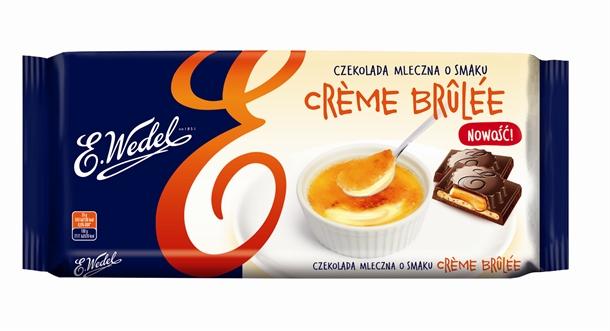 Wedel Creme Brulee, czekolada mleczna z nadzieniem crème brulee, 289 g Image