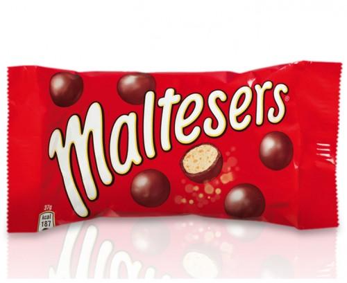 Maltesers, czekoladowe draże z nadzieniem, 37 g Image