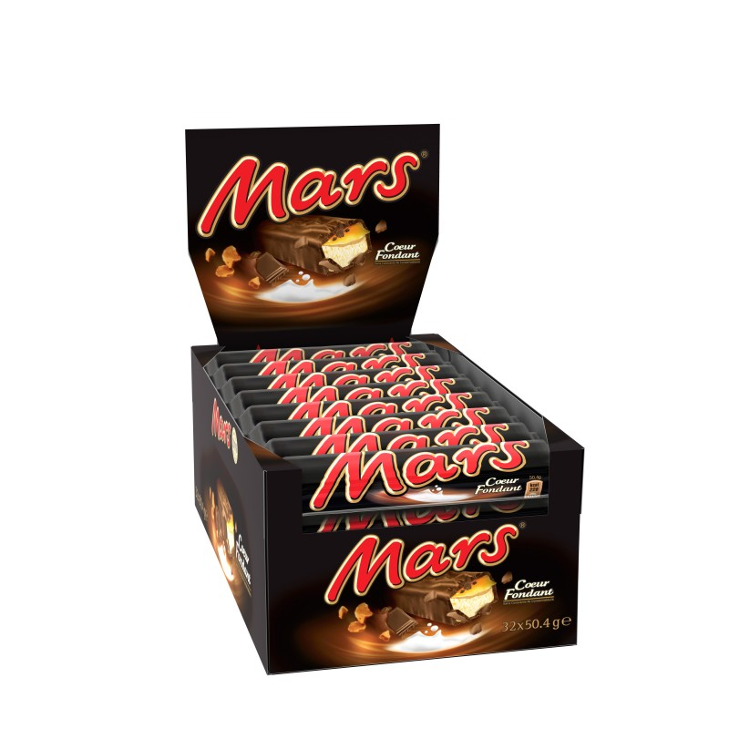 Mars Coeur Fondant, batony z nadzieniem, 32 x 50.4 g Image