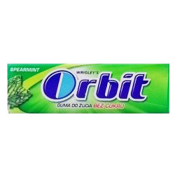Orbit Spearmint, guma do żucia bez cukru, 14 g Image