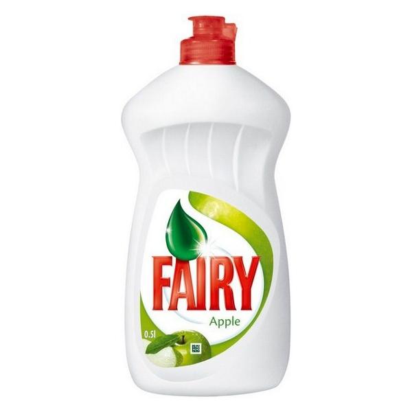 Fairy Apple, płyn do mycia naczyń o zapachu jabłka, 0,5 l Image