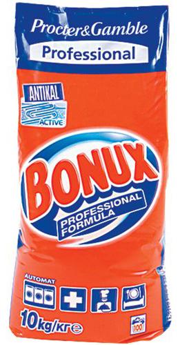 Bonux, proszek do prania z formułą przeciw kamieniowi, 10 kg Image