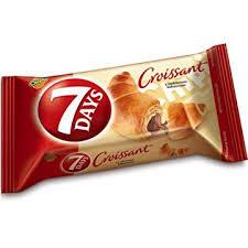 7days, croissant z nadzieniem kakaowym, 80 g Image