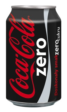 Coca Cola Zero, napój o smaku coli bez cukru, 330 ml Image