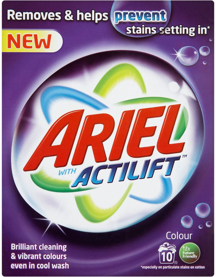 Ariel Actilift, proszek do prania tkanin kolorowych, 800 g Image