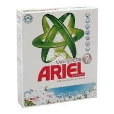 Ariel Complete 7, proszek do prania z płynem do płukania, 400 g Image