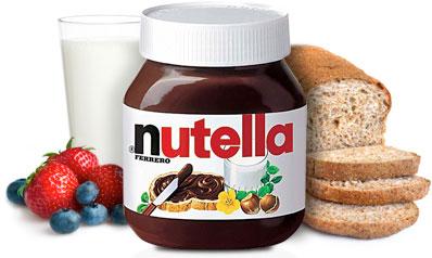 Nutella, krem czekoladowo – orzechowy, 350 g Image