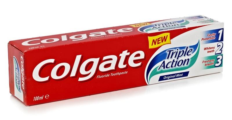 Colgate Tripe Action, pasta do zębów o potrójnym działaniu, 100 ml Image