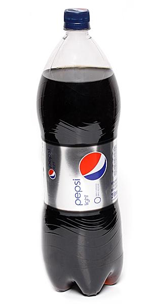 Pepsi Light, napój gazowany o smaku coli z obniżoną zawartością cukru, 2 l Image