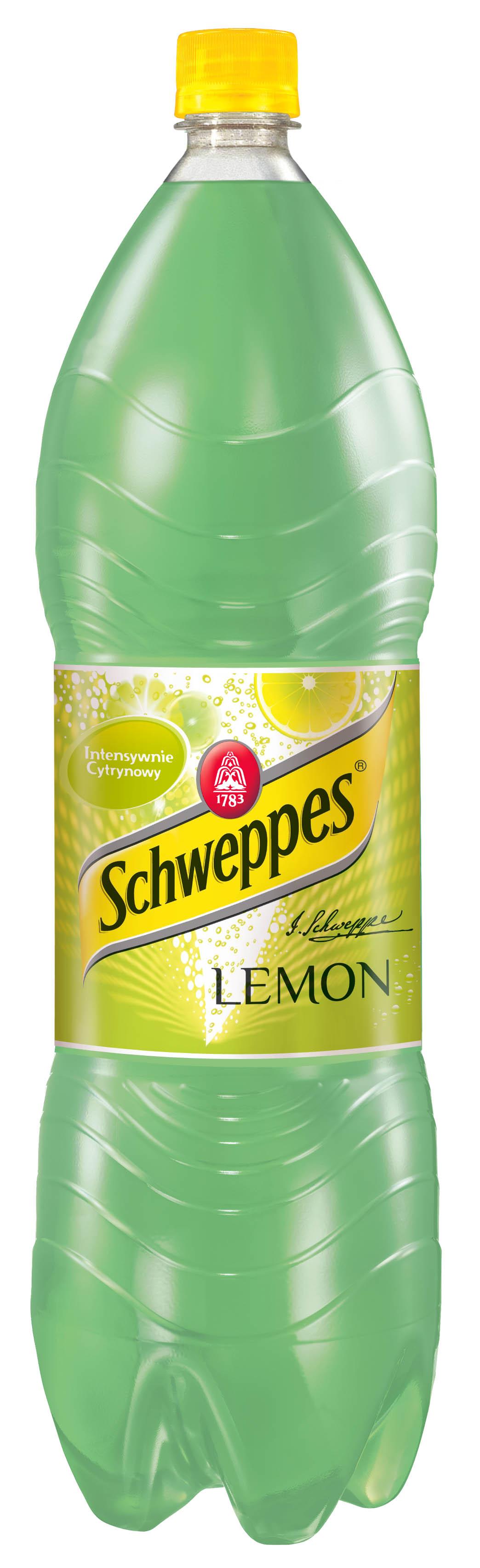 Schweppes, napój gazowany o smaku cytrynowym, 1,5 l Image