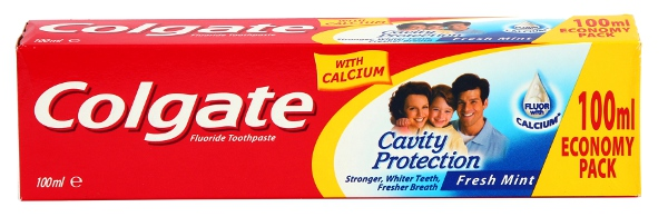 Colgate Cavity Protection, pasta do zębów z wapnem, 100 ml Image