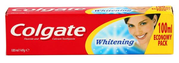 Colgate Whitening, pasta do zębów wybielająca, 100 ml Image