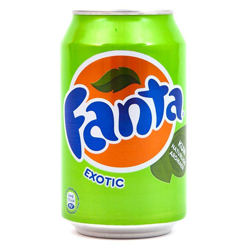 Fanta, napój gazowany o smaku owoców egzotycznych, 330 ml Image