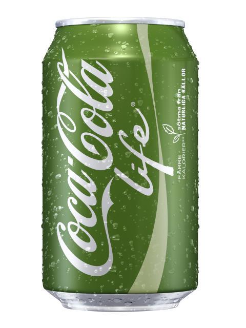 Coca Life 330 ml Image