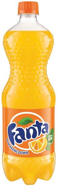 Fanta, napój gazowany o smaku pomarańczowym, 0,5 l Image