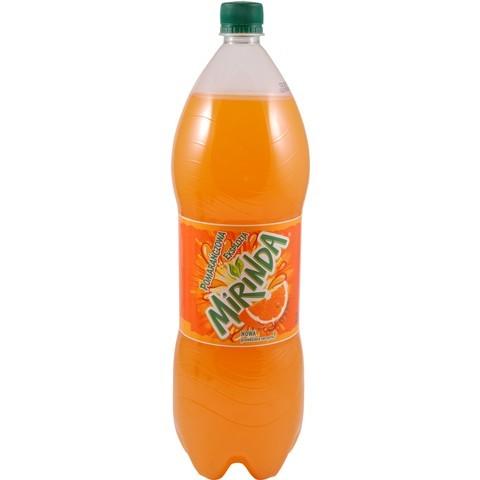 Mirinda, napój gazowany o smaku pomarańczowym, 2 l Image