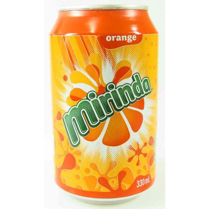 Mirinda, napój gazowany o smaku pomarańczowym, 330 ml Image