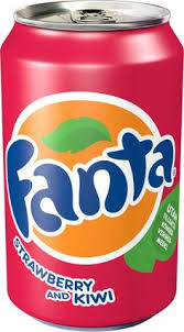Fanta strawberry kiwi 330 ml Image
