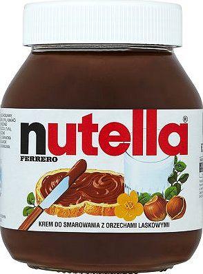 Nutella, krem o smaku czekoladowo - orzechowym 600 g Image